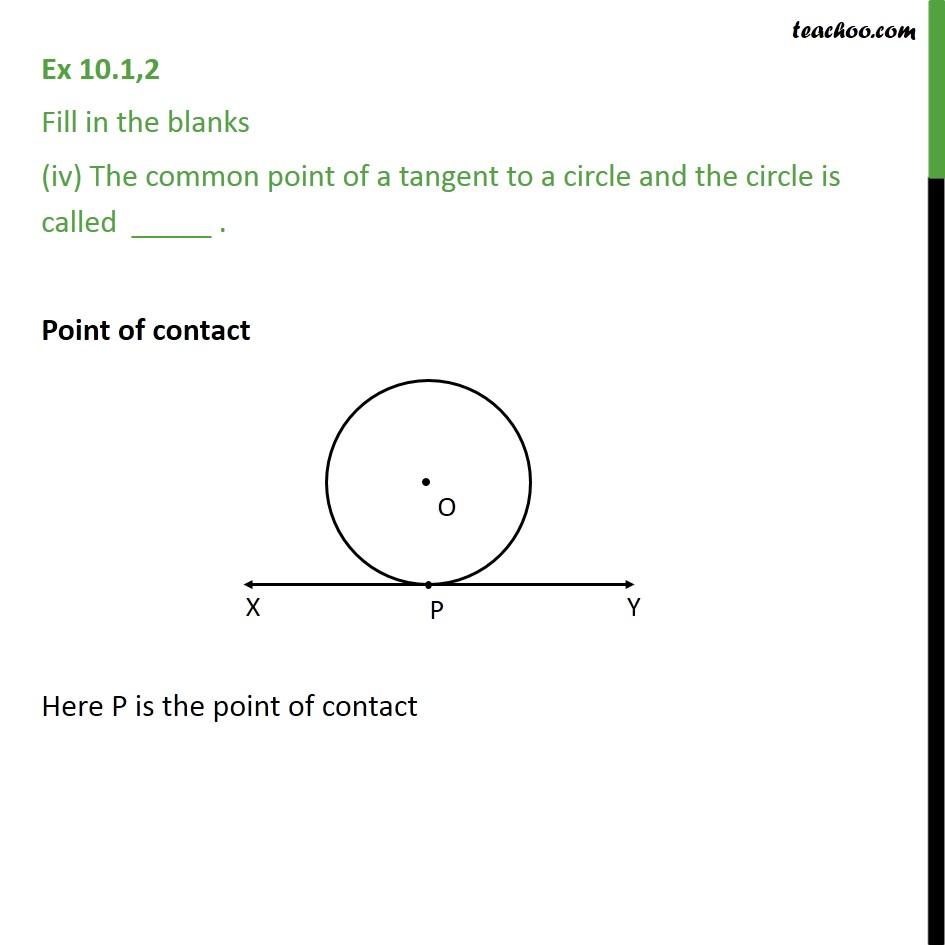 Ex 10.1, 2 - Chapter 10 Class 10 Circles - Part 4