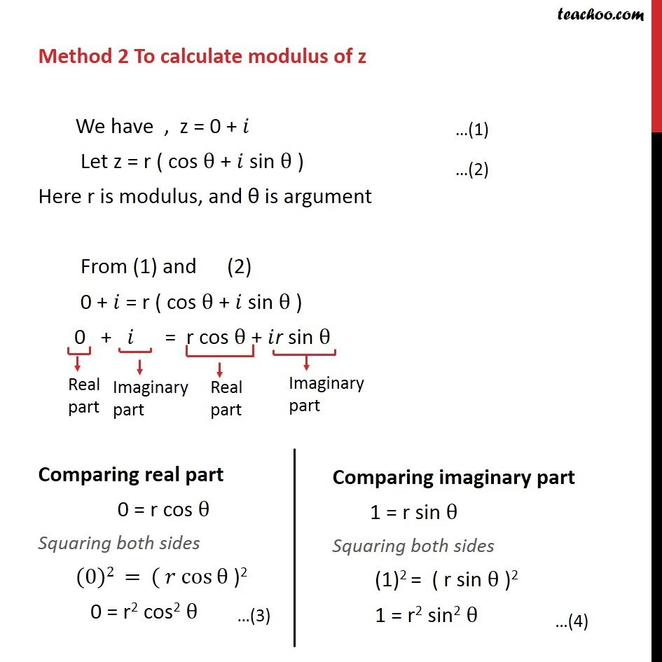 Example 13  - Chapter 5 Class 11 Complex Numbers - Part 4