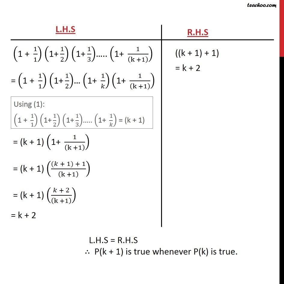 Ex 4.1, 14 - Chapter 4 Class 11 Mathematical Induction - Part 3