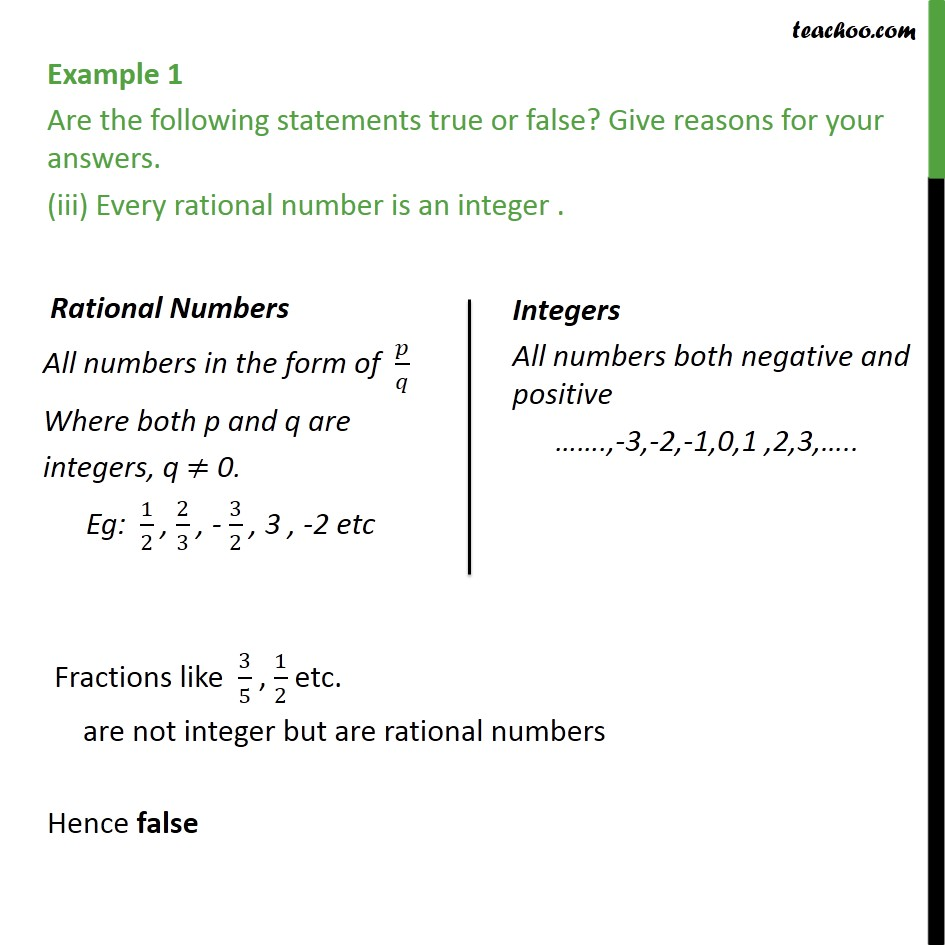 Example 1 - Chapter 1 Class 9 Number Systems - Part 3