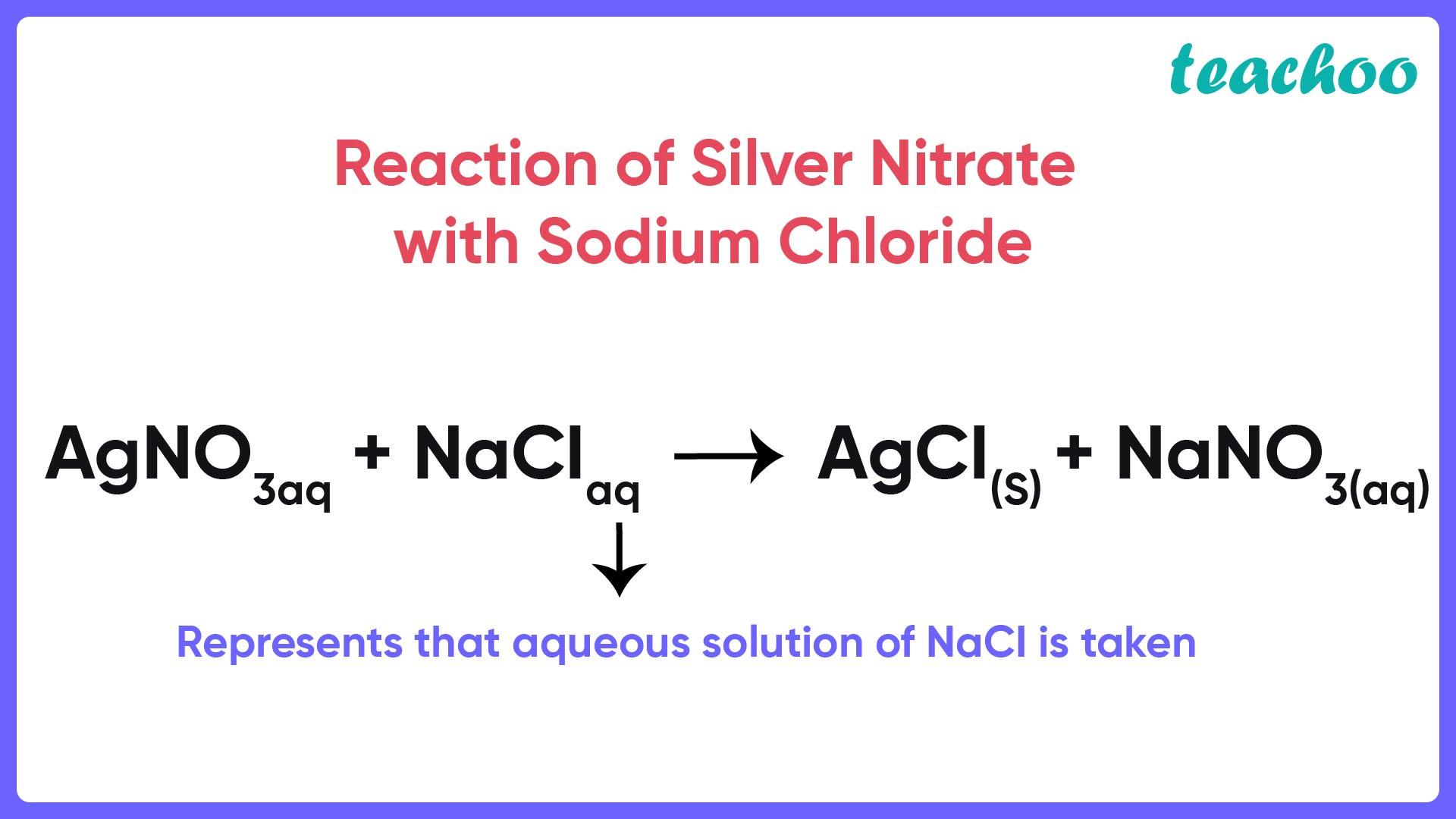 Reaction of Silver Nitrate with Sodium Chloride - Teachoo-01.jpg