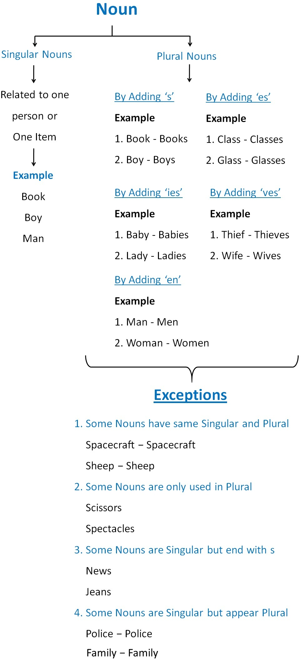Singular and plural nouns s, es, ies, etc.jpg