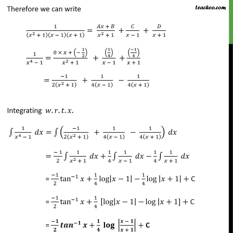 Ex 7 5, 15 Class 12 Maths - NCERT Solutions - Integrate 1