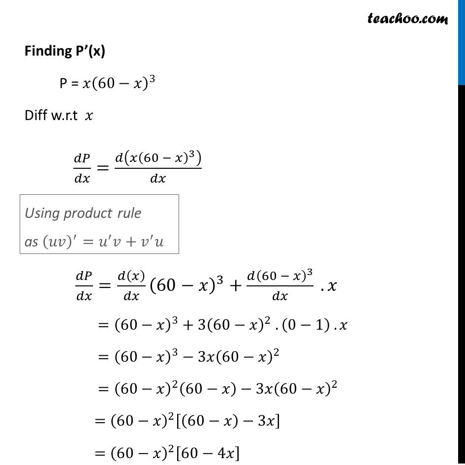 Ex 6.5,14 - Chapter 6 Class 12 Application of Derivatives - Part 2