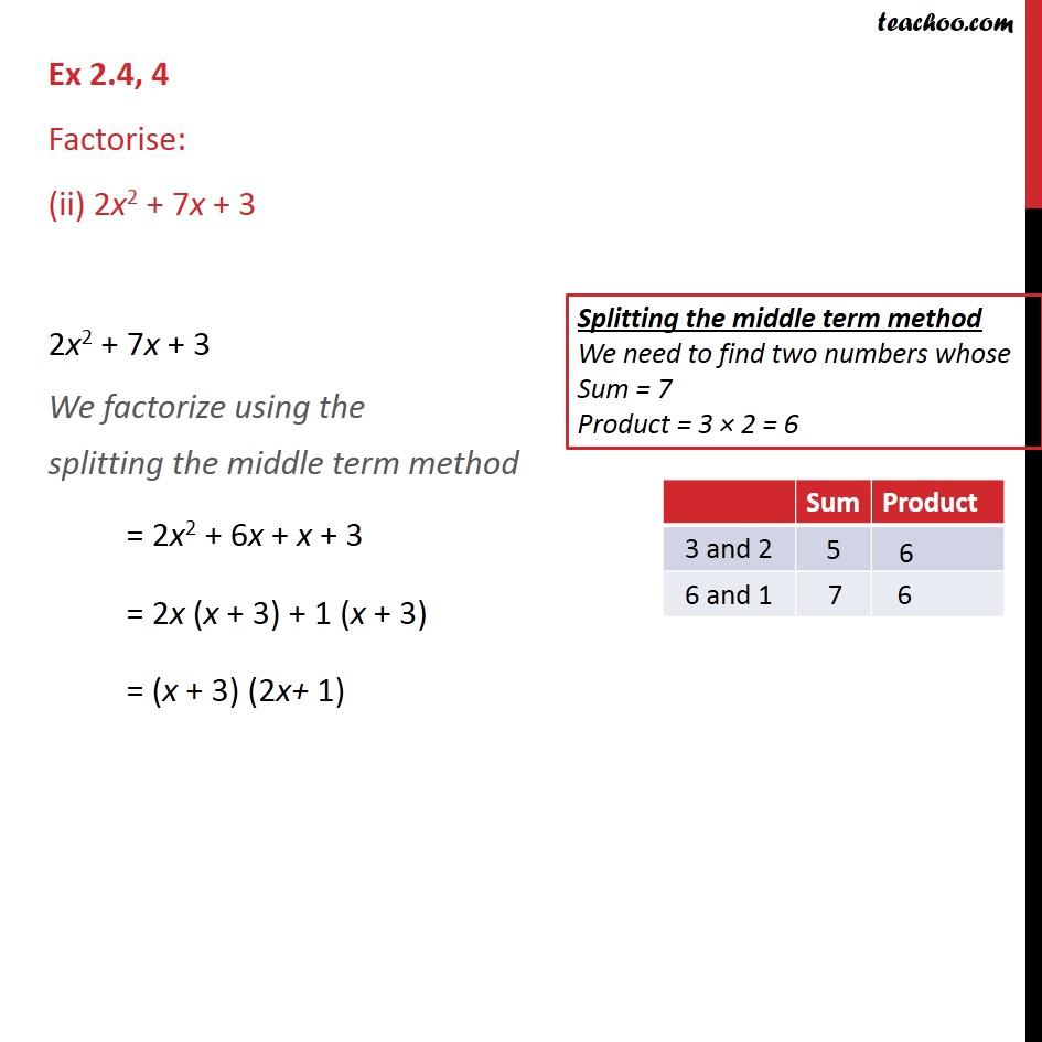 Ex 2.4,4 - Chapter 2 Class 9 Polynomials - Part 2
