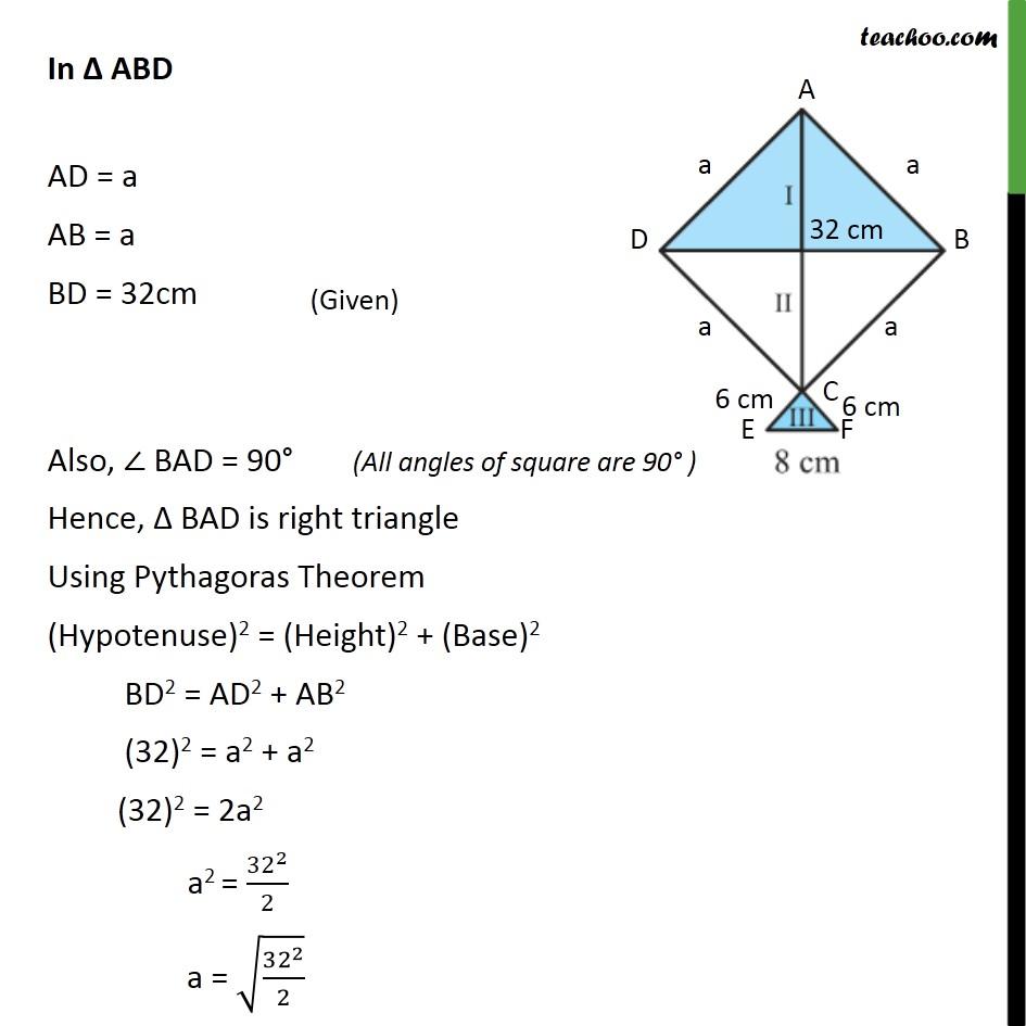 Ex 12.2, 7 - Chapter 12 Class 9 Herons Formula - Part 2