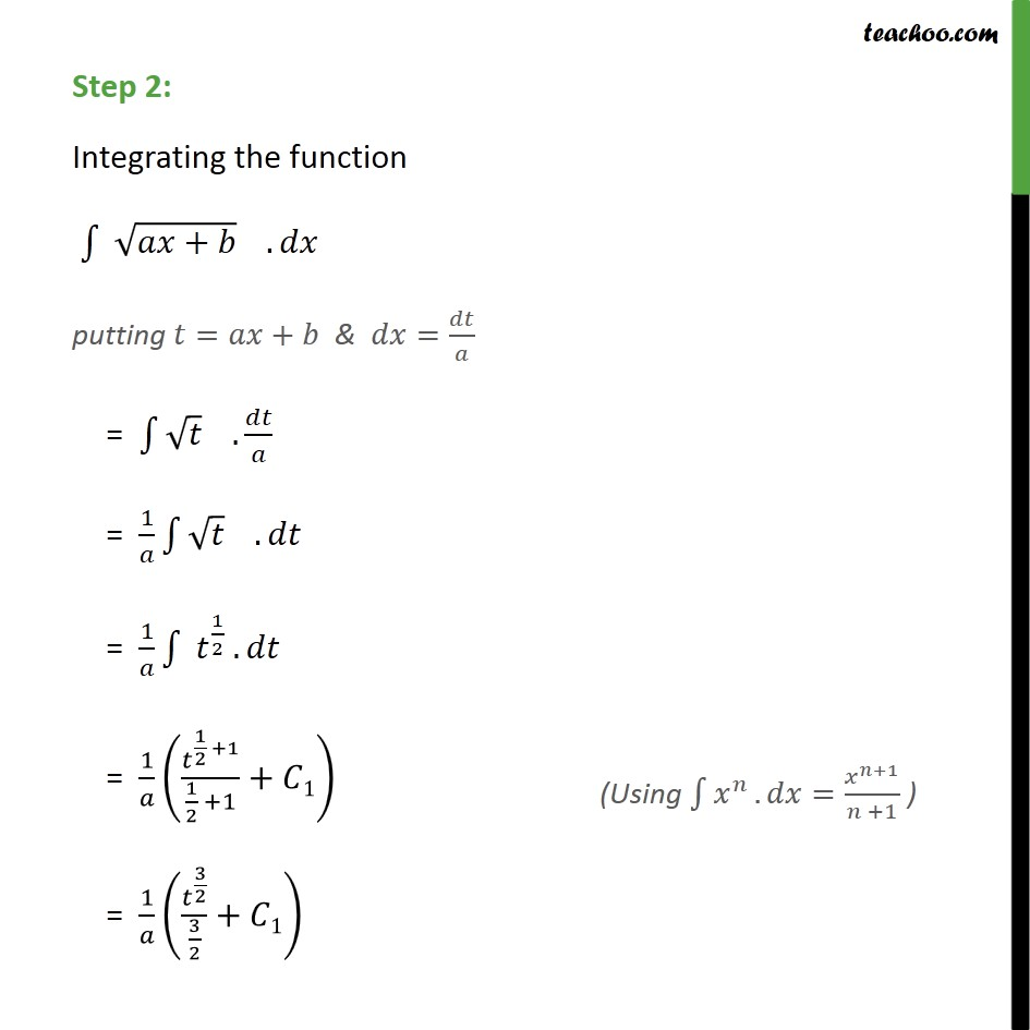 Ex 7.2, 6 - Chapter 7 Class 12 Integrals - Part 2