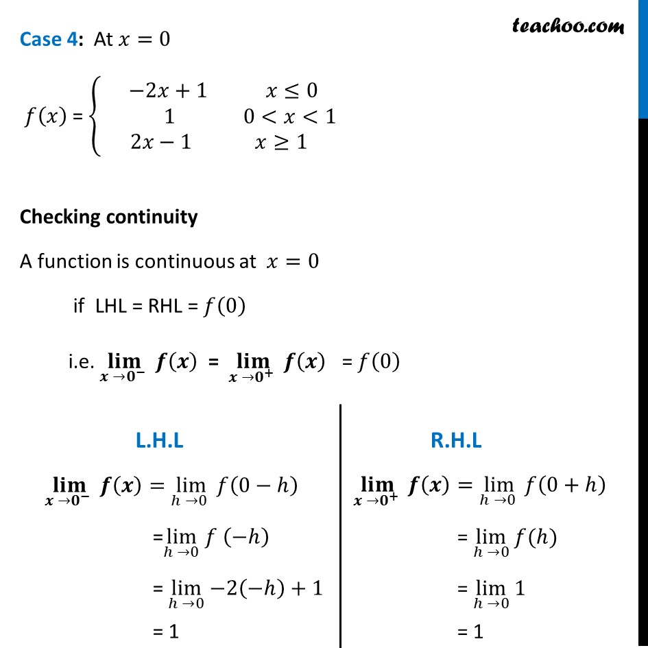Misc  21 - Chapter 5 Class 12 Continuity and Differentiability - Part 4