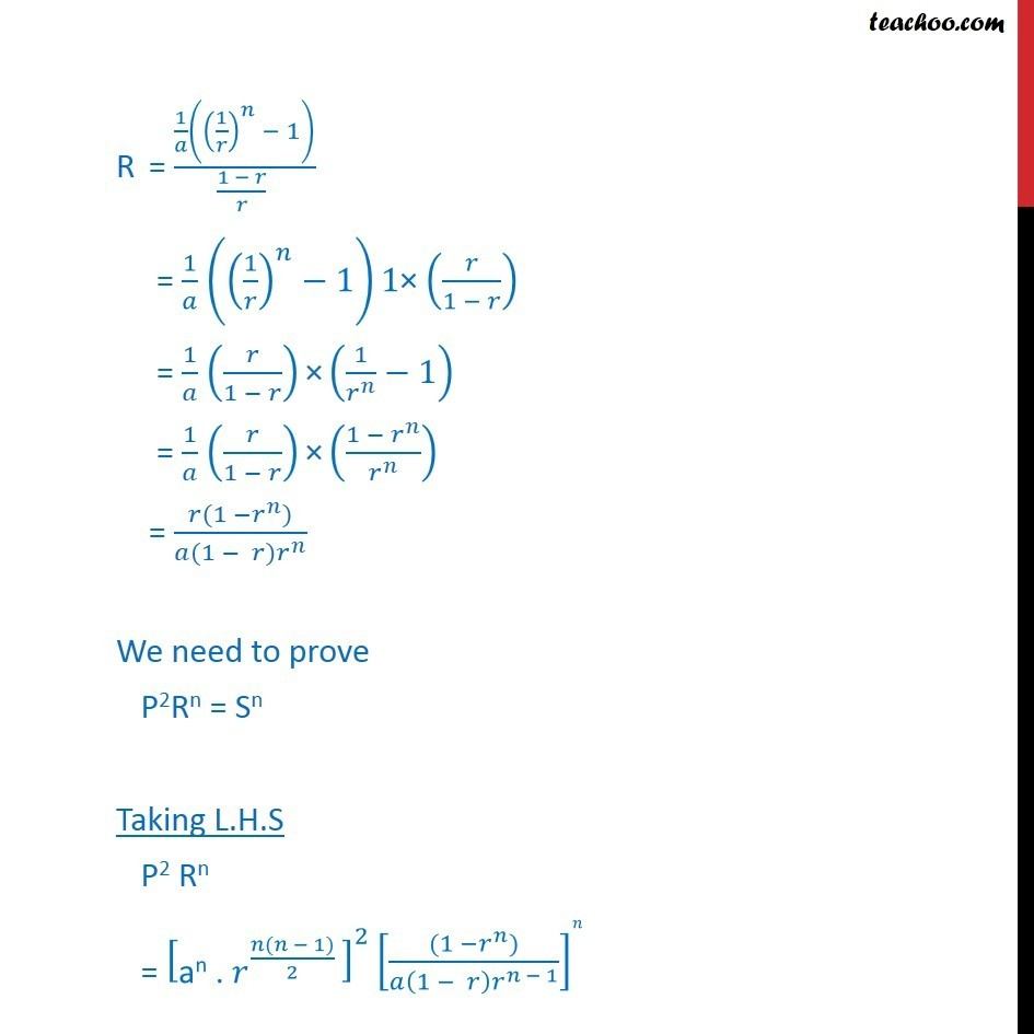 Misc 14 - Chapter 9 Class 11 Sequences and Series - Part 4