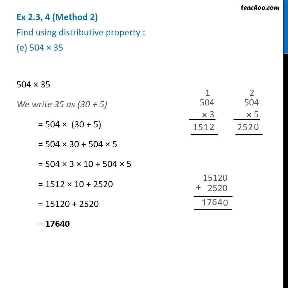 Ex 2.3, 4 - Chapter 2 Class 6 Whole Numbers - Part 7