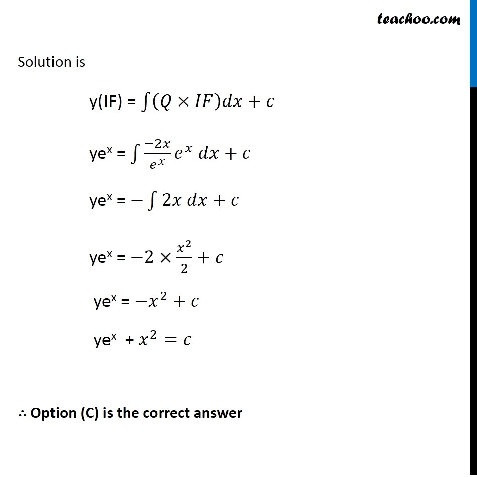 Misc 18 - Chapter 9 Class 12 Differential Equations - Part 3