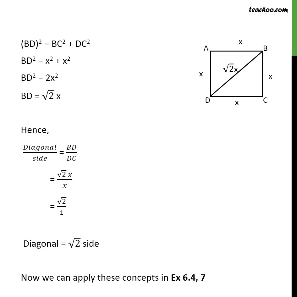 Ex 6.4, 7 - Chapter 6 Class 10 Triangles - Part 3