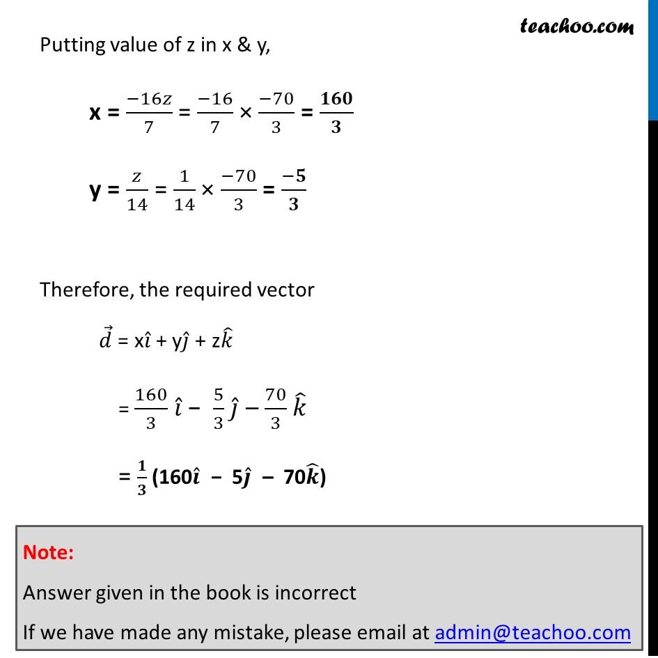 Misc 12 - Chapter 10 Class 12 Vector Algebra - Part 5