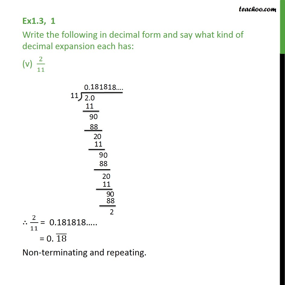 Ex 1.3,1 - Chapter 1 Class 9 Number Systems - Part 5