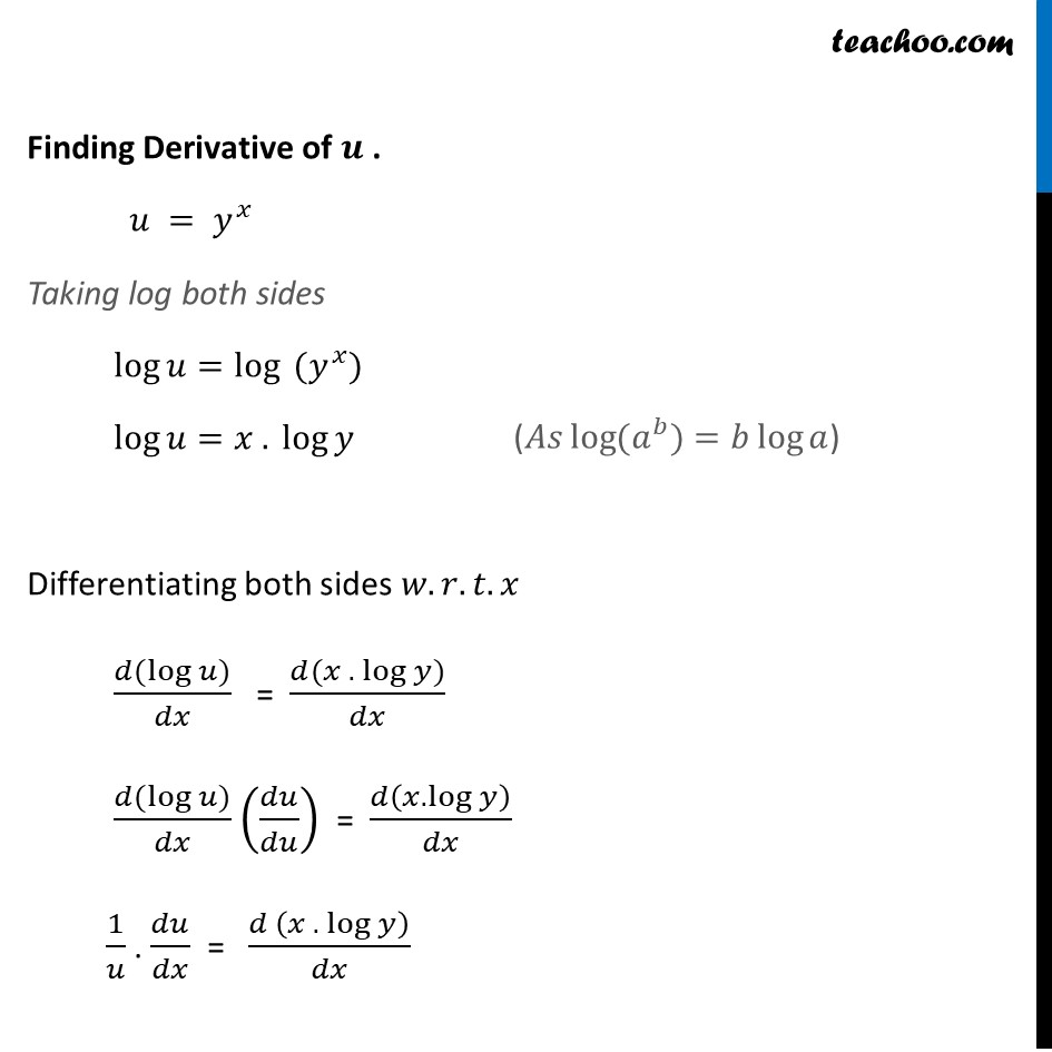 Example 33 - Chapter 5 Class 12 Continuity and Differentiability - Part 2