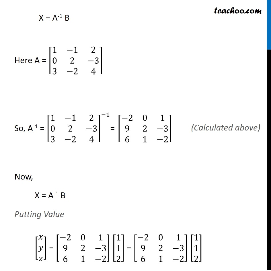 Example 33 - Chapter 4 Class 12 Determinants - Part 4