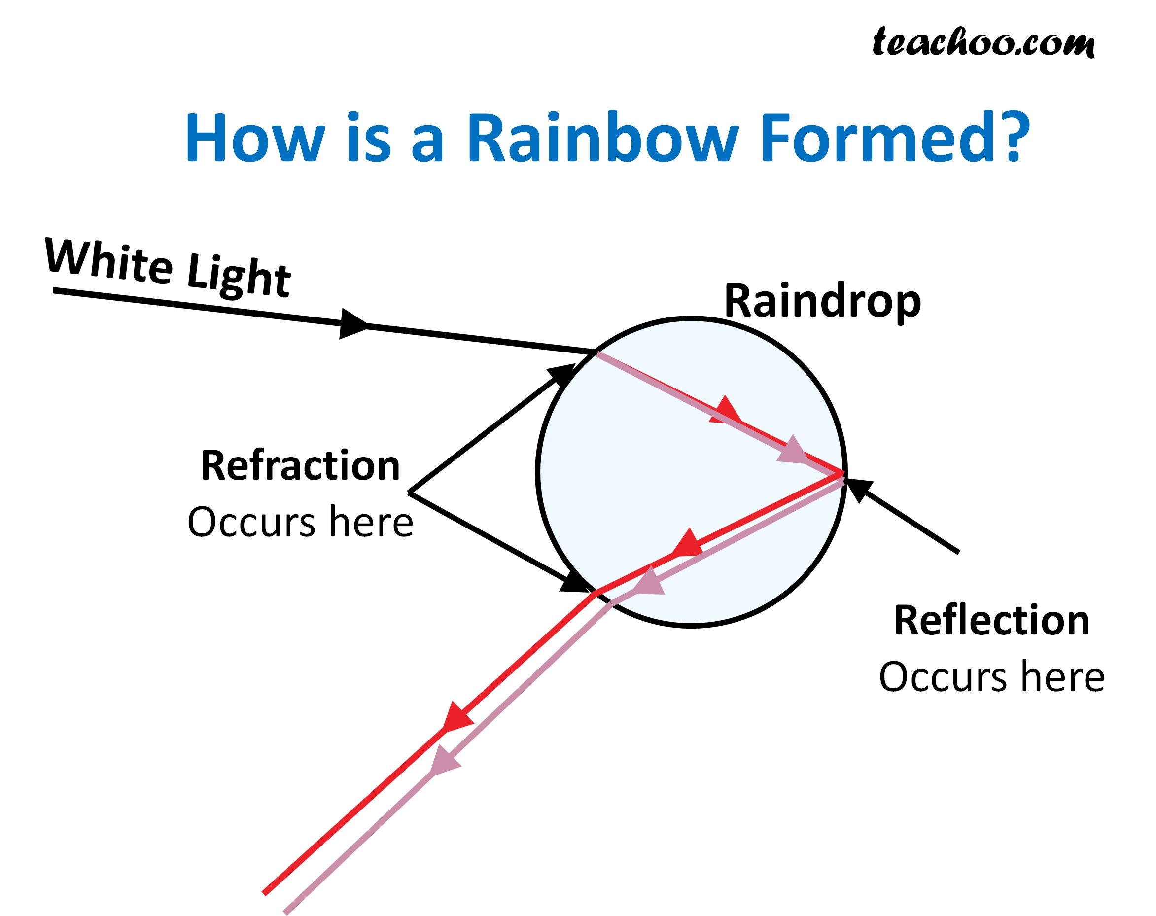 How is Rainbow formed - Teachoo.jpg