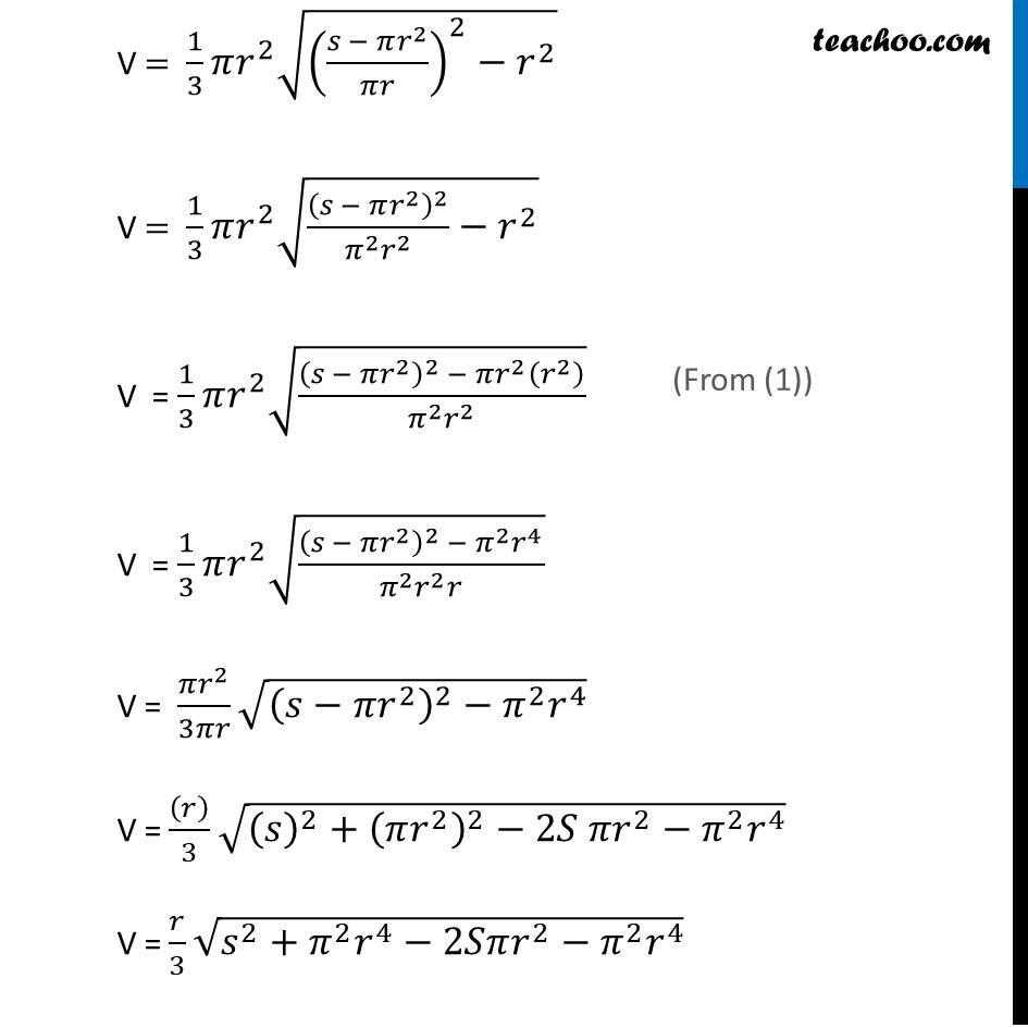 Ex 6.5,26 - Chapter 6 Class 12 Application of Derivatives - Part 4