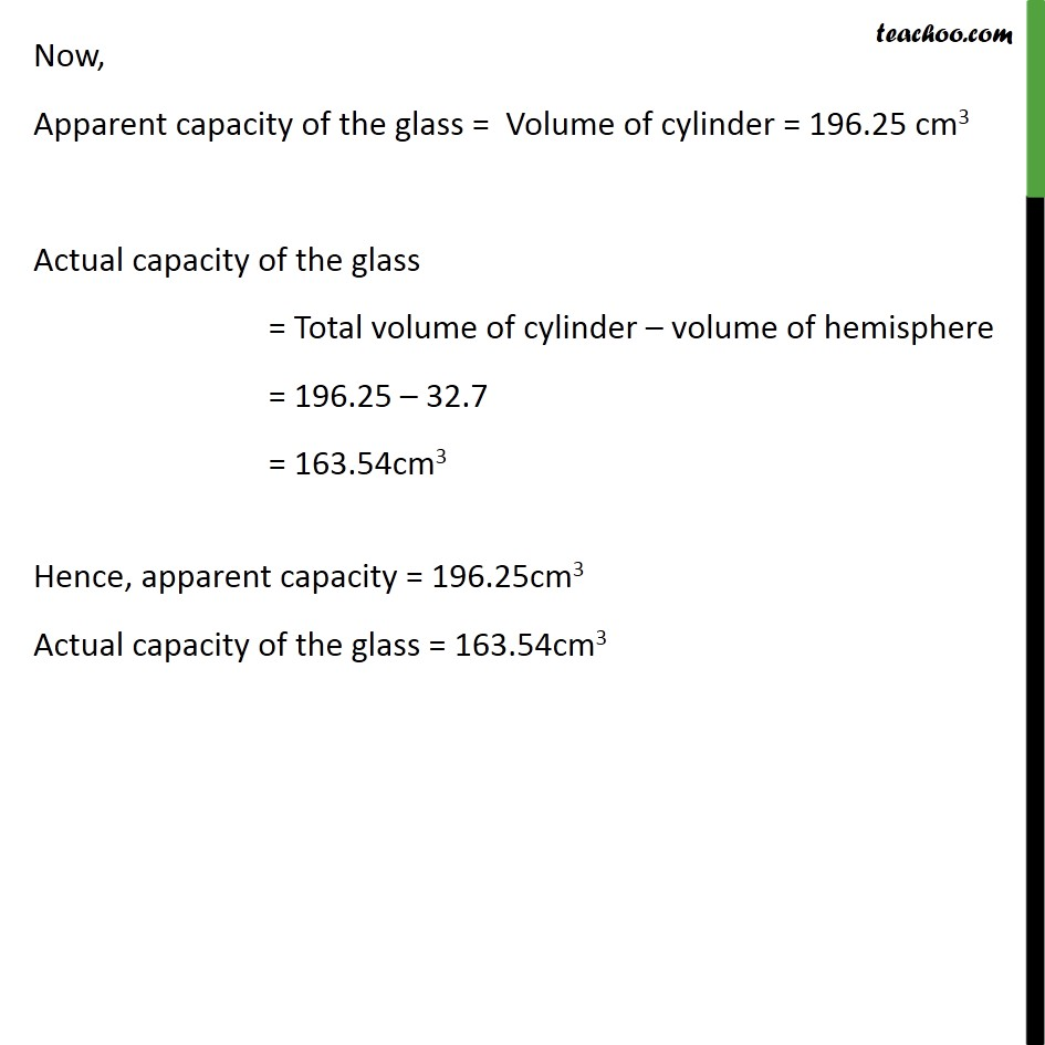 Example 6 - Chapter 13 Class 10 Surface Areas and Volumes - Part 3