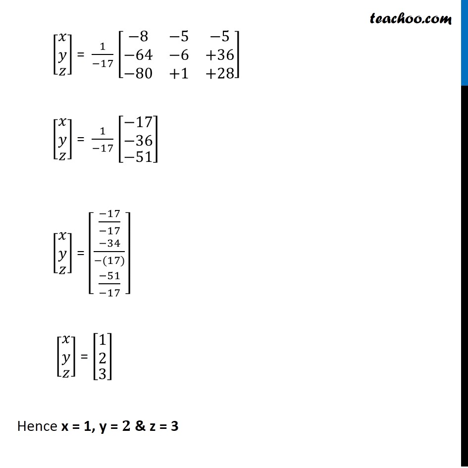 Example 28 - Chapter 4 Class 12 Determinants - Part 7