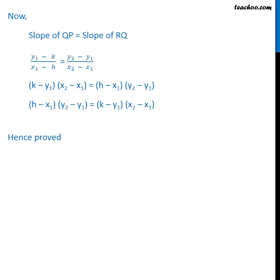 Example 4 - Chapter 10 Class 11 Straight Lines - Part 2