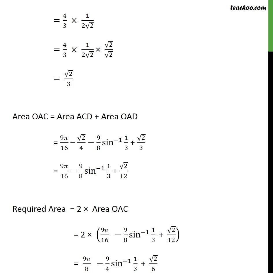 Misc 15 - Chapter 8 Class 12 Application of Integrals - Part 9