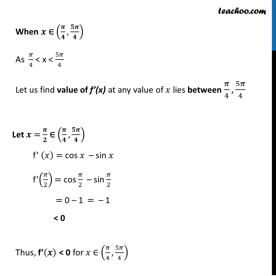 Example 13 - Chapter 6 Class 12 Application of Derivatives - Part 4