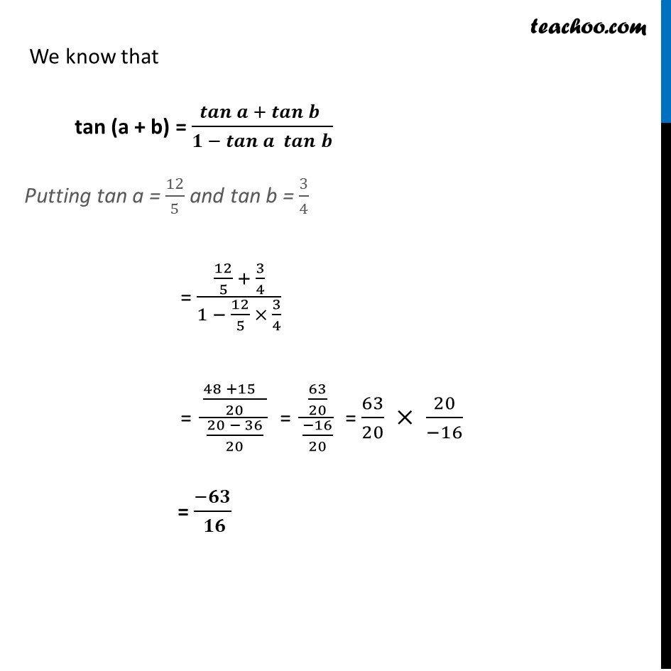 Example 11 - Chapter 2 Class 12 Inverse Trigonometric Functions - Part 3