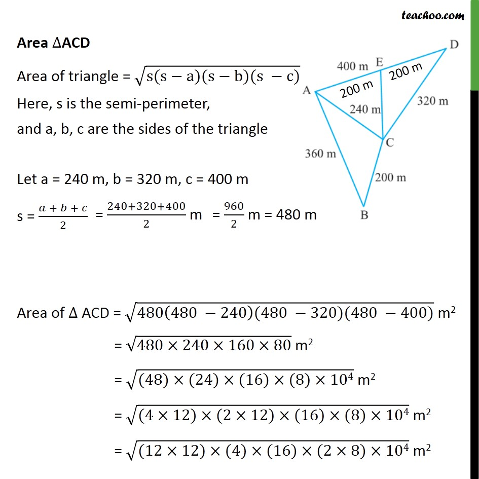Example 4 - Chapter 12 Class 9 Herons Formula - Part 5