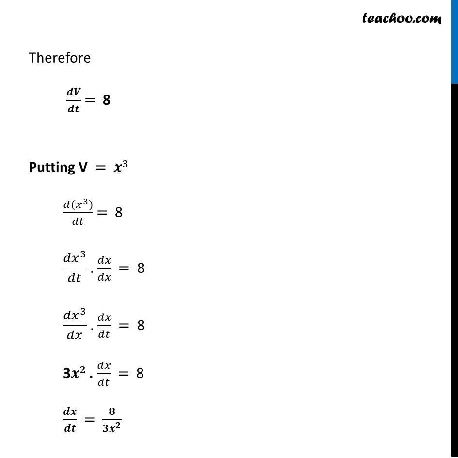 Ex 6.1,2 - Chapter 6 Class 12 Application of Derivatives - Part 2