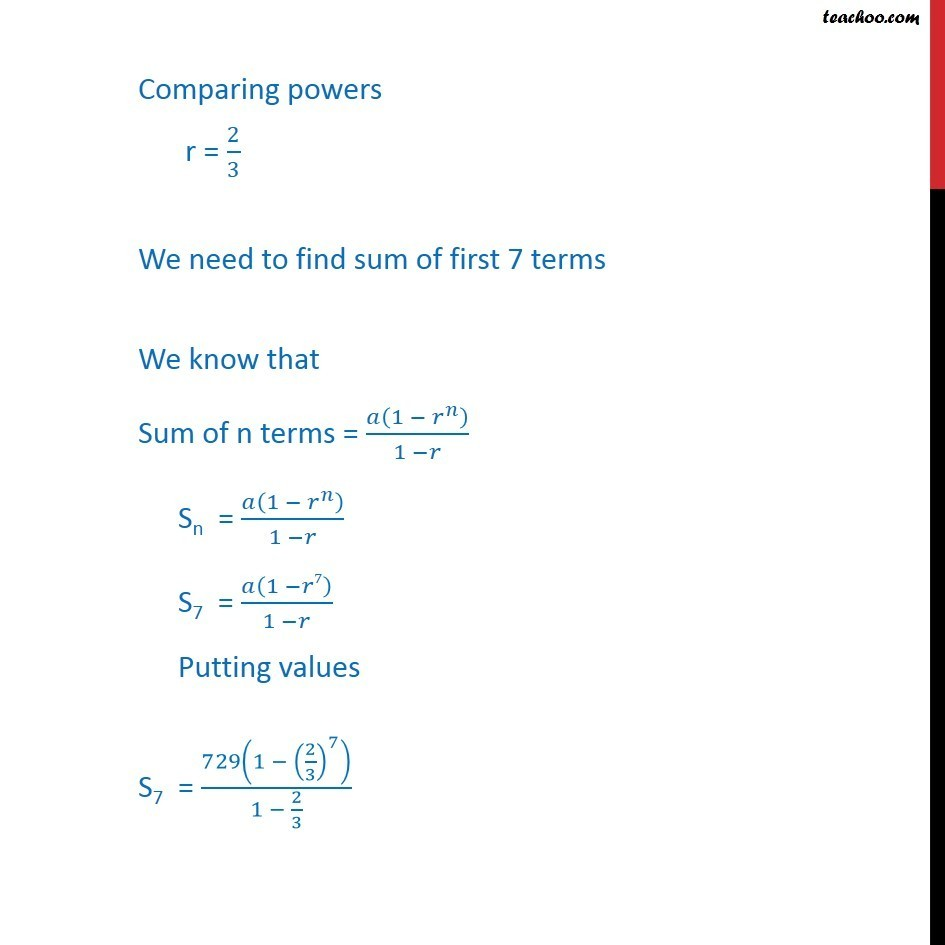 Ex 9.3, 15 - Chapter 9 Class 11 Sequences and Series - Part 2