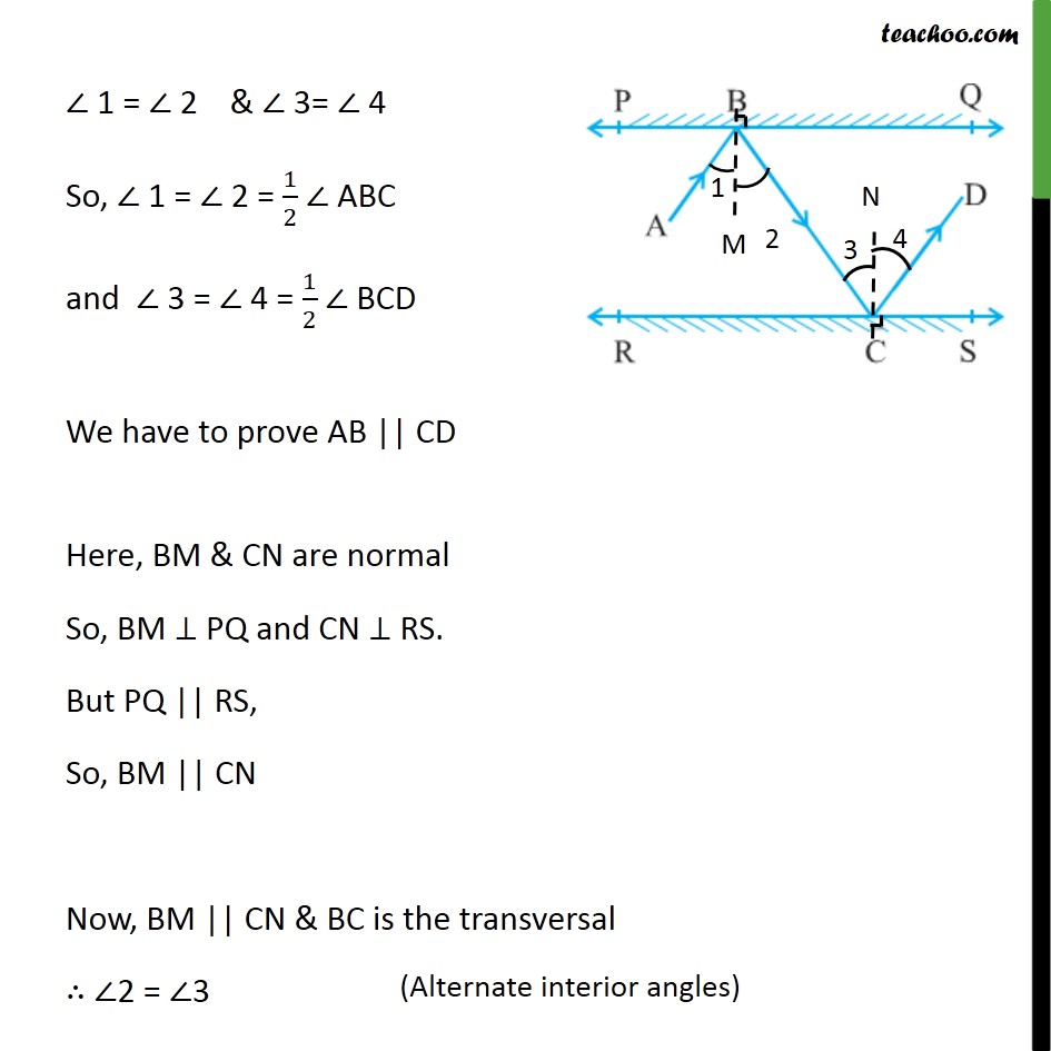 Ex 6.2,6 - Chapter 6 Class 9 Lines and Angles - Part 2