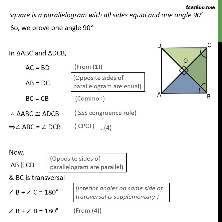 Ex 8.1, 5 - Chapter 8 Class 9 Quadrilaterals - Part 3