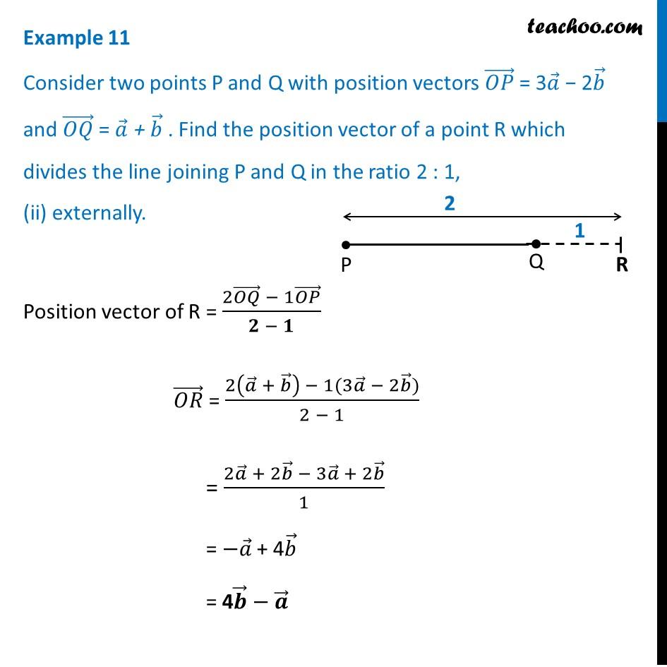Example 11 - Chapter 10 Class 12 Vector Algebra - Part 3