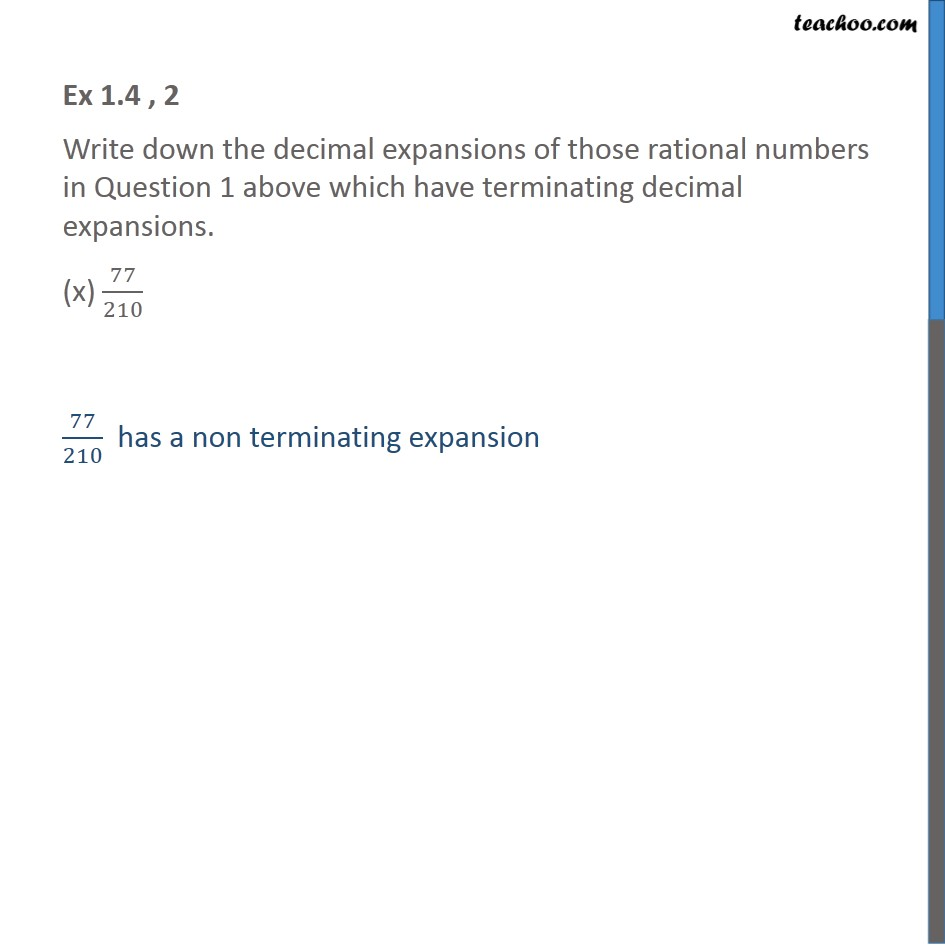Ex 1.4, 2 - Chapter 1 Class 10 Real Numbers - Part 17