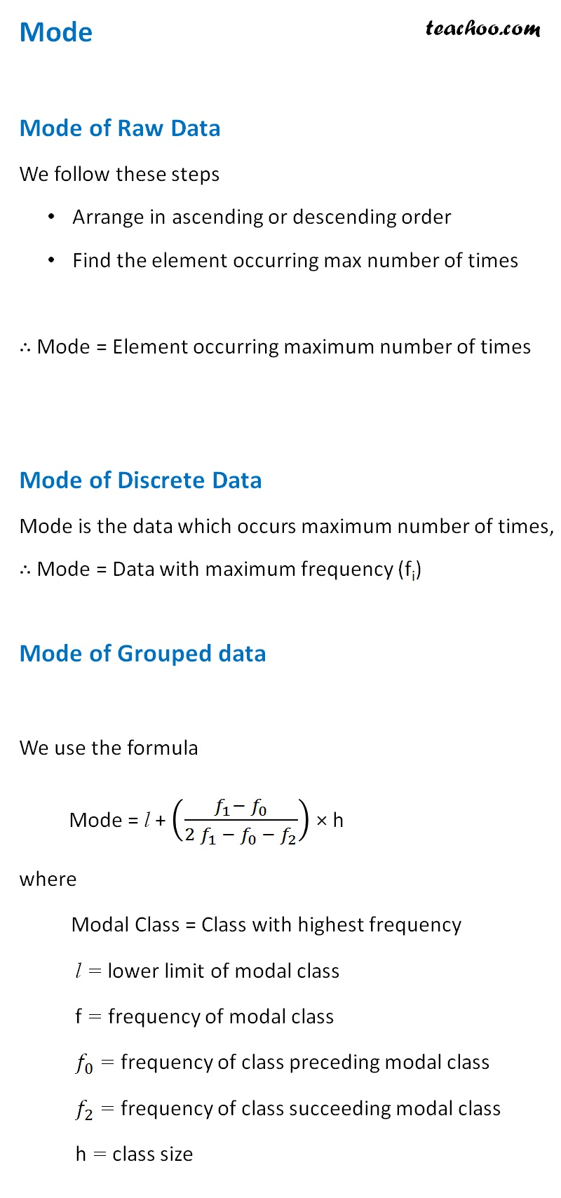 Mode of Raw, Discrete and Grouped Data.jpg