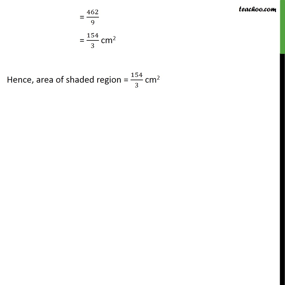 Ex 12.3, 2 - Chapter 12 Class 10 Areas related to Circles - Part 3