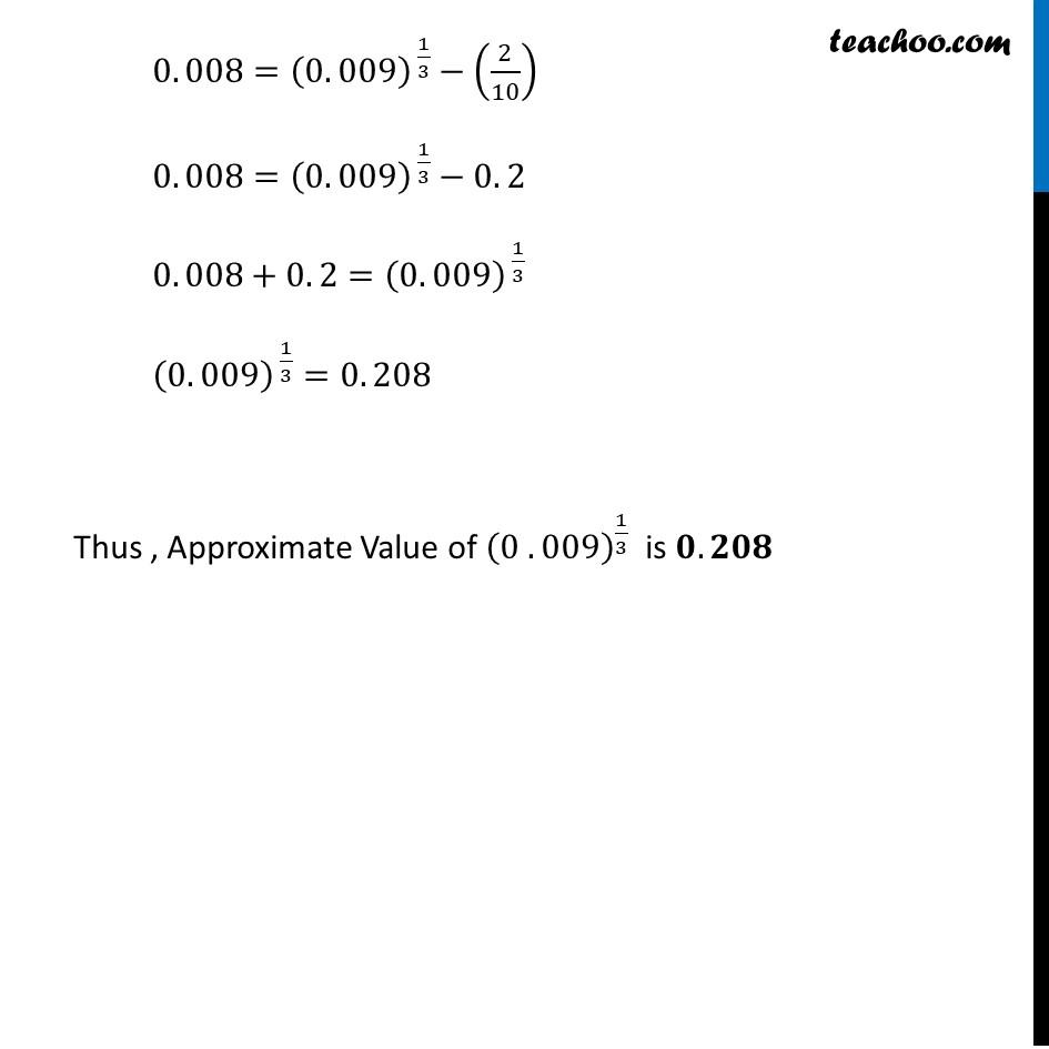 Ex 6.4, 1 (iv) - Chapter 6 Class 12 Application of Derivatives - Part 4