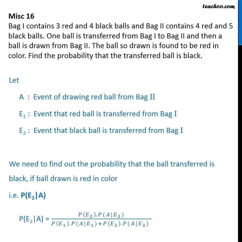Misc 16 - Miscellaneous