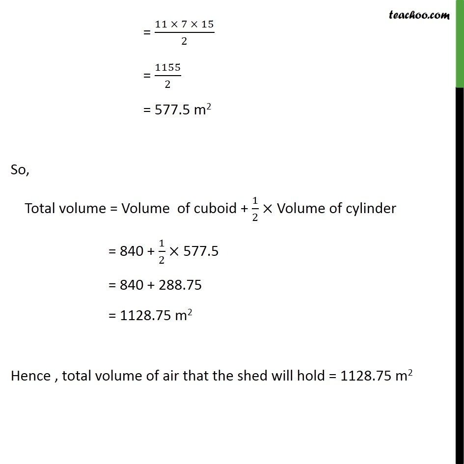 Example 5 - Chapter 13 Class 10 Surface Areas and Volumes - Part 3