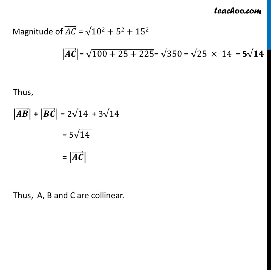 Misc 8 - Chapter 10 Class 12 Vector Algebra - Part 4