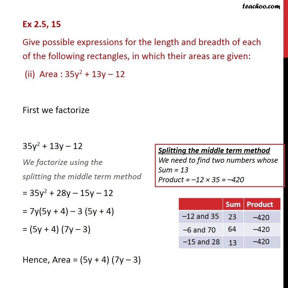 Ex 2.5, 15 - Chapter 2 Class 9 Polynomials - Part 3