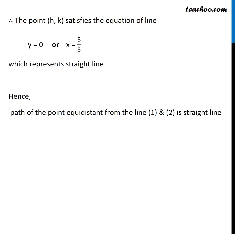 Example 25 - Chapter 10 Class 11 Straight Lines - Part 4