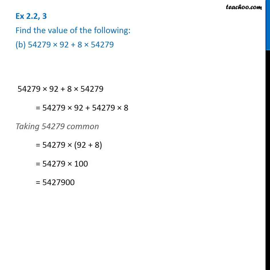 Ex 2.2, 3 - Chapter 2 Class 6 Whole Numbers - Part 2