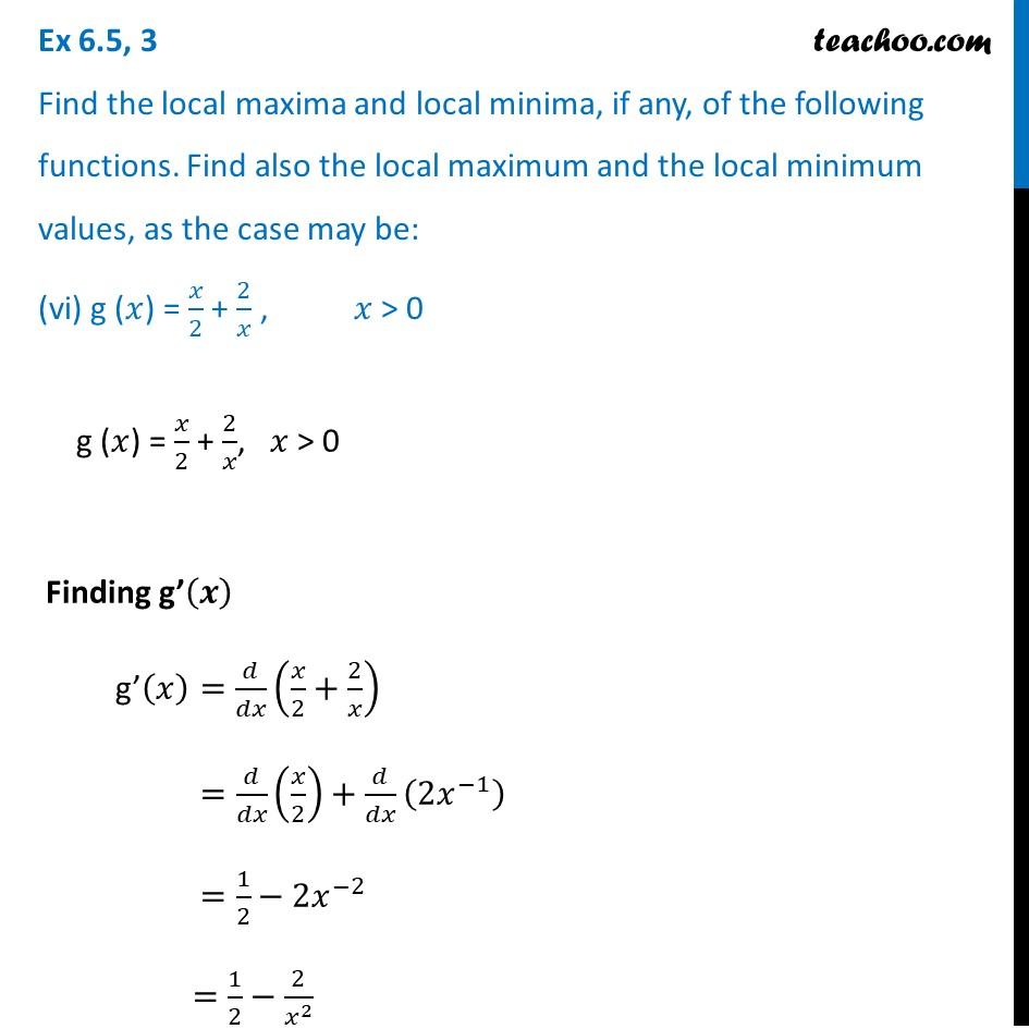 Ex 6.5,3 - Chapter 6 Class 12 Application of Derivatives - Part 20