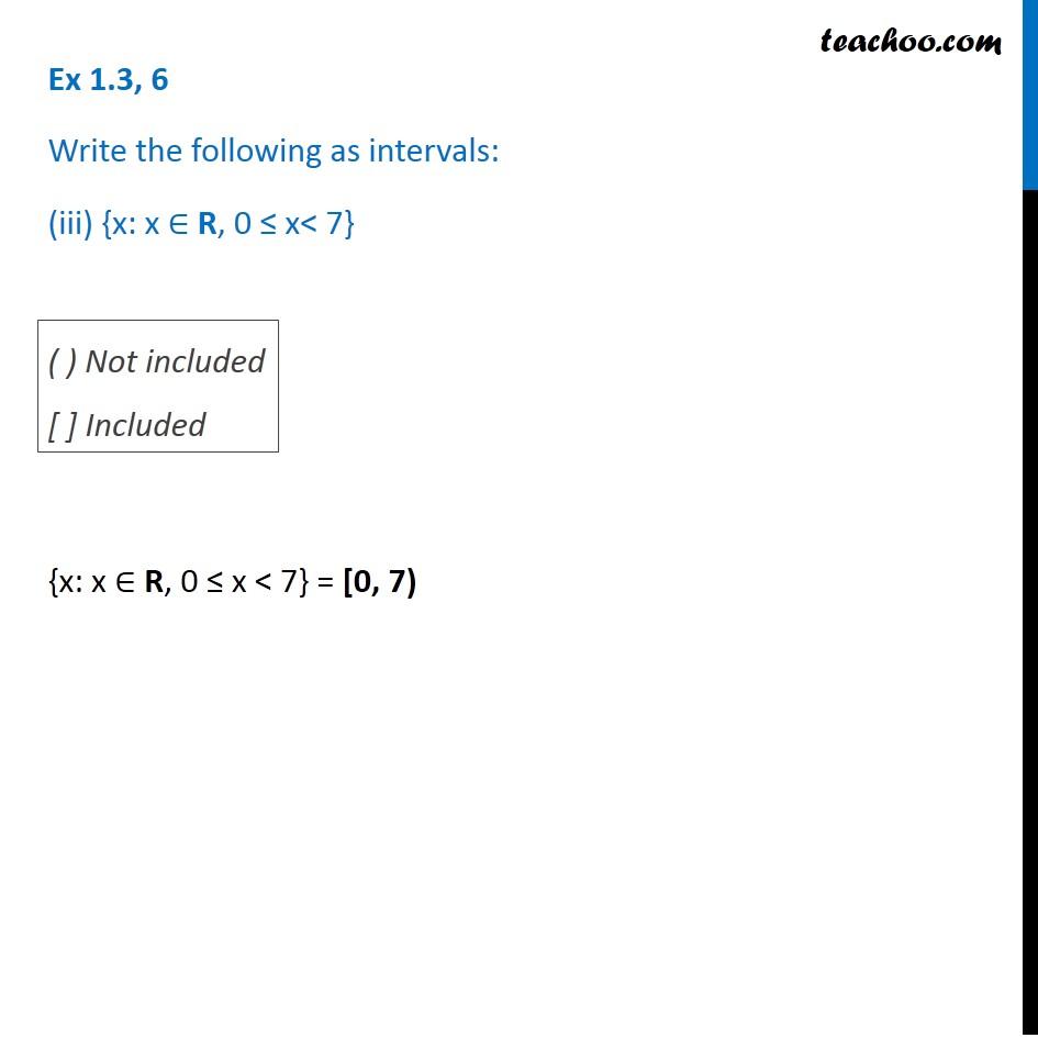 Ex 1.3, 6 - Chapter 1 Class 11 Sets - Part 3