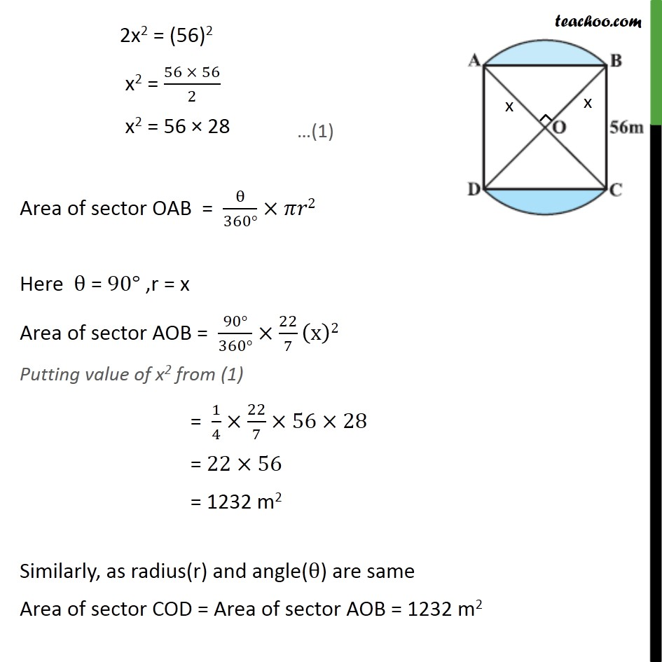 Example 4 - Chapter 12 Class 10 Areas related to Circles - Part 8