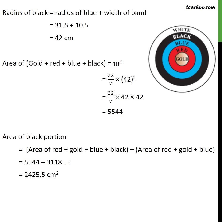Ex 12.1, 3 - Chapter 12 Class 10 Areas related to Circles - Part 4