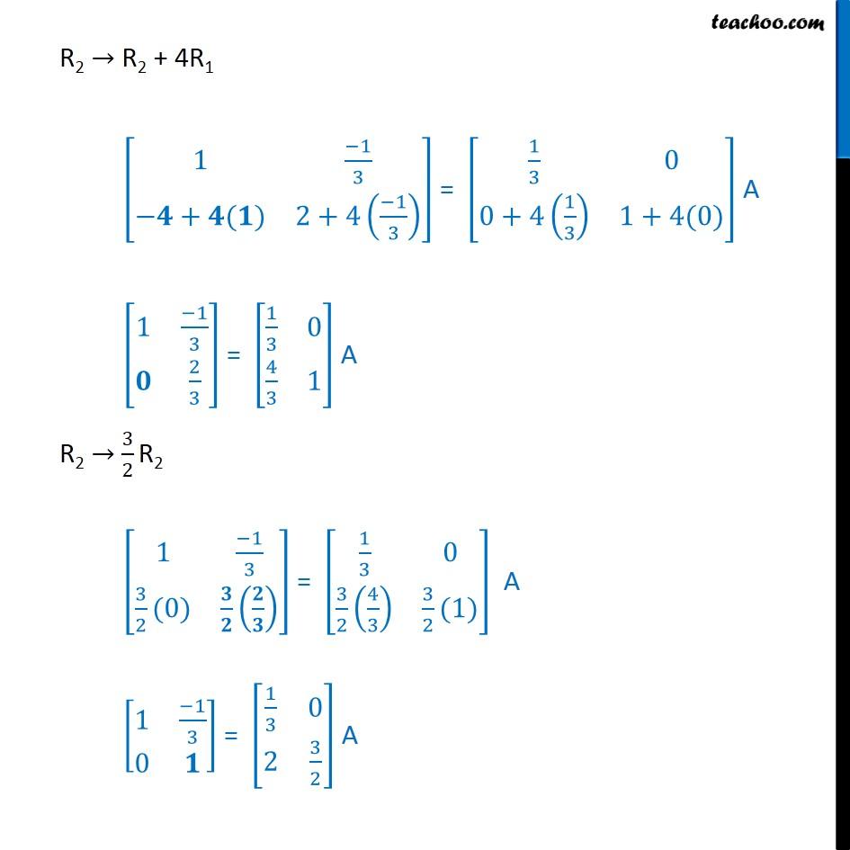 Ex 3.4, 10 - Chapter 3 Class 12 Matrices - Part 2