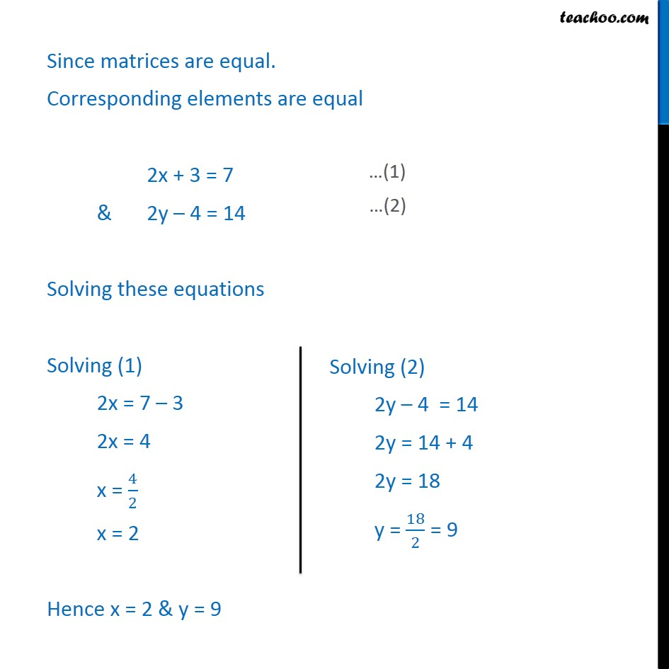 Example 10 - Chapter 3 Class 12 Matrices - Part 2